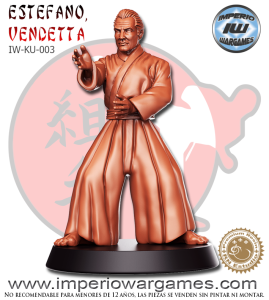 1 ESTEFANO 'VENDETTA' (IW-KU-003) = 10.00€