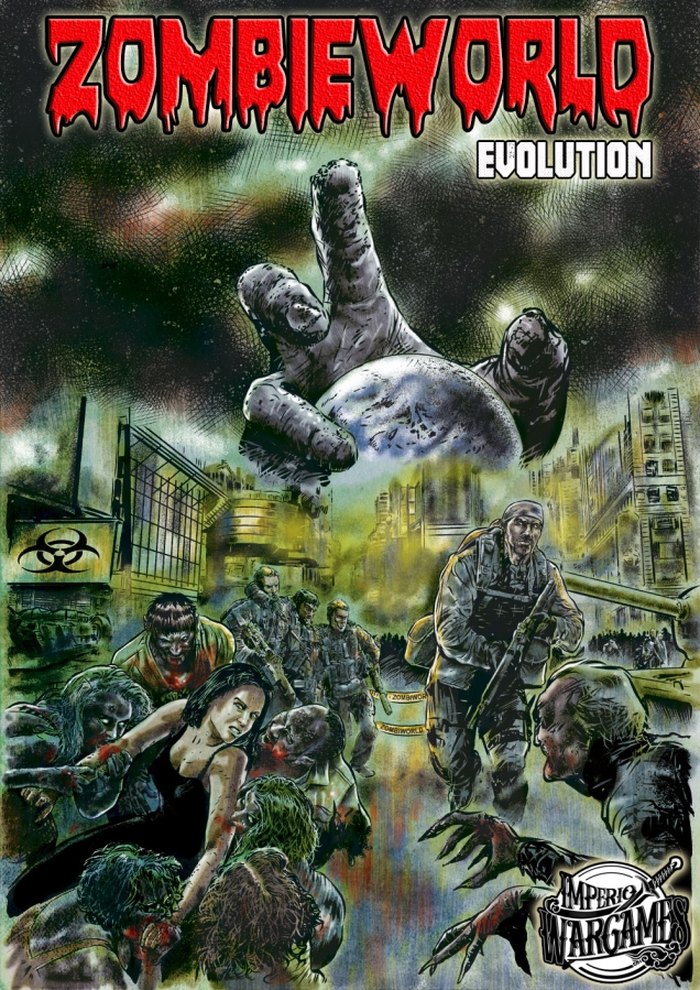Portada a color de ZombieWorld Evolution