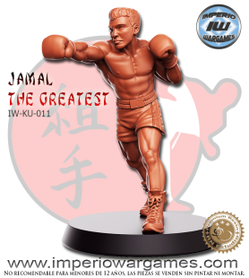 IW-KU-011 JAMAL THE GREATEST